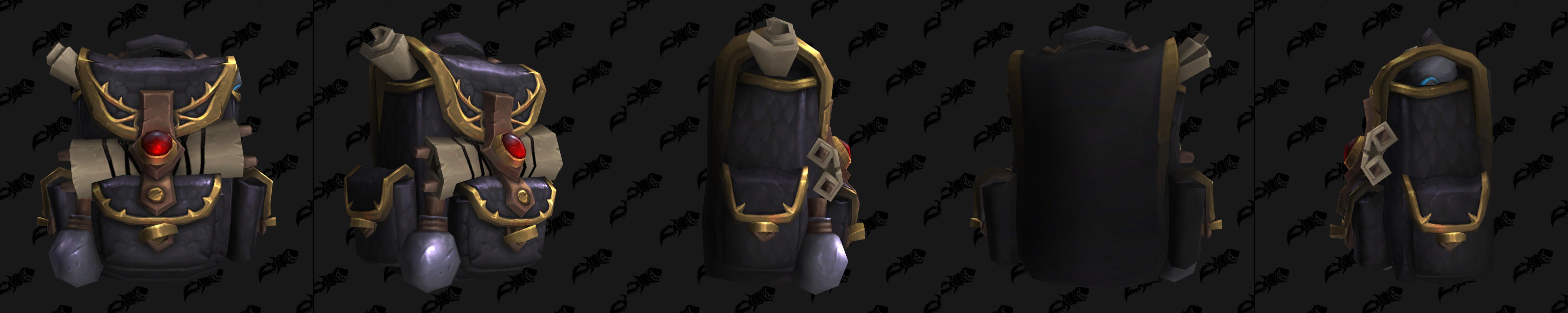 Игрокам впервые позволят носить рюкзак в World of Warcraft