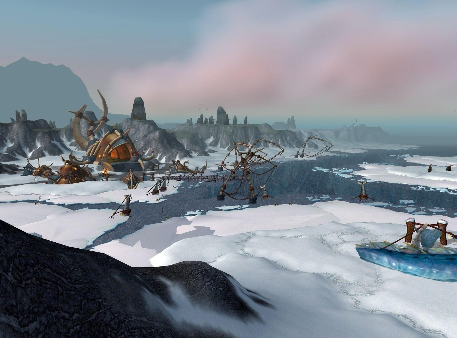 Path Across Frozen Arctic Tundra Was >> Borean Tundra Zone World Of Warcraft
