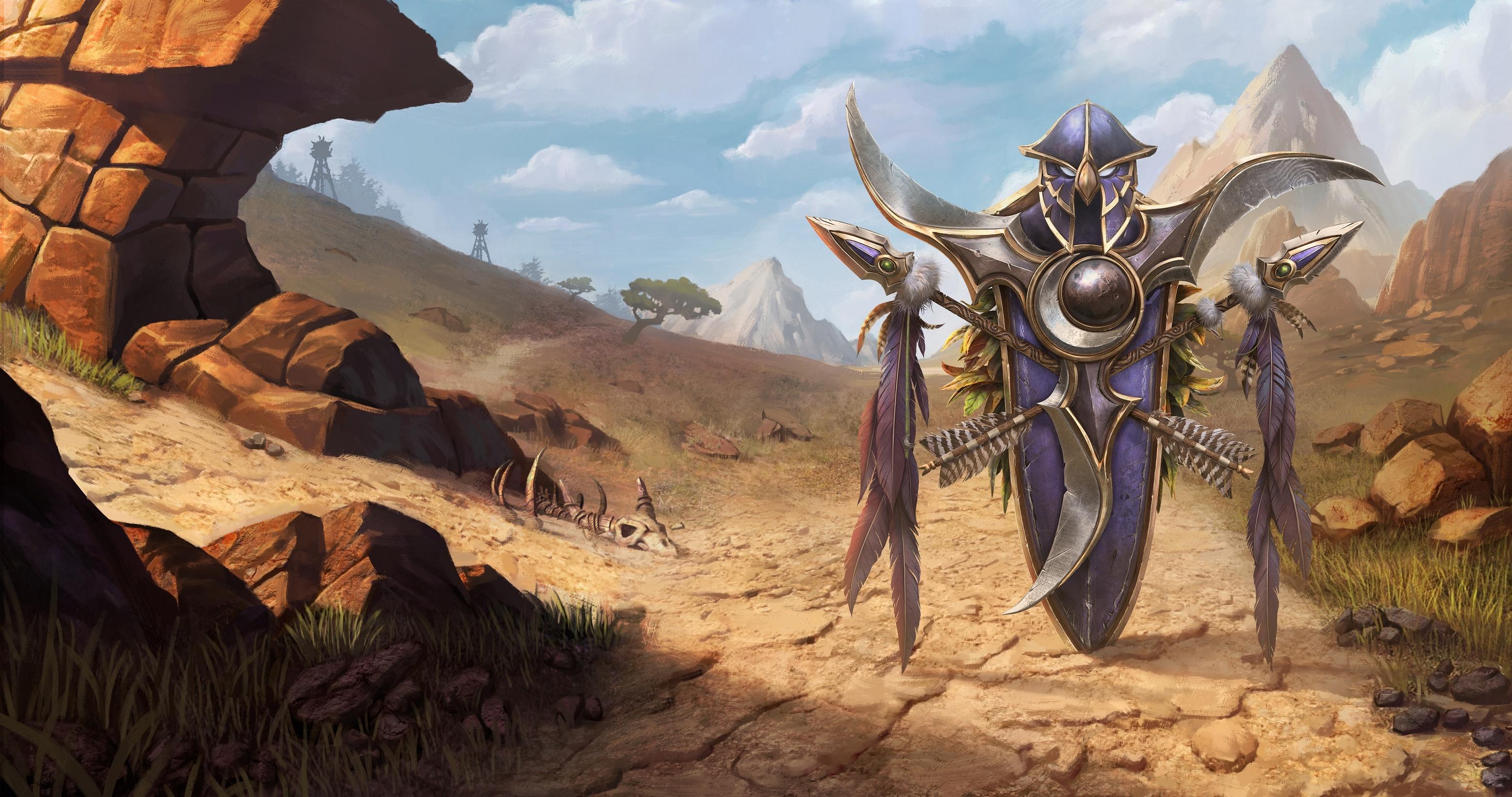 Warcraft III Reforged Art Assets - Loading Screens
