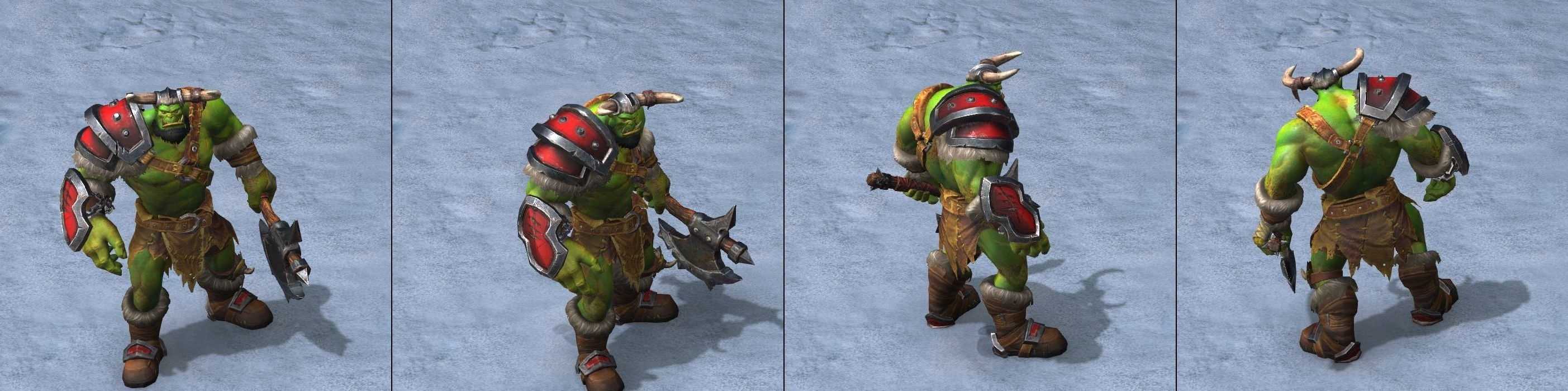 Warcraft Iii Reforged Orc Unit And Hero Models Wowhead News