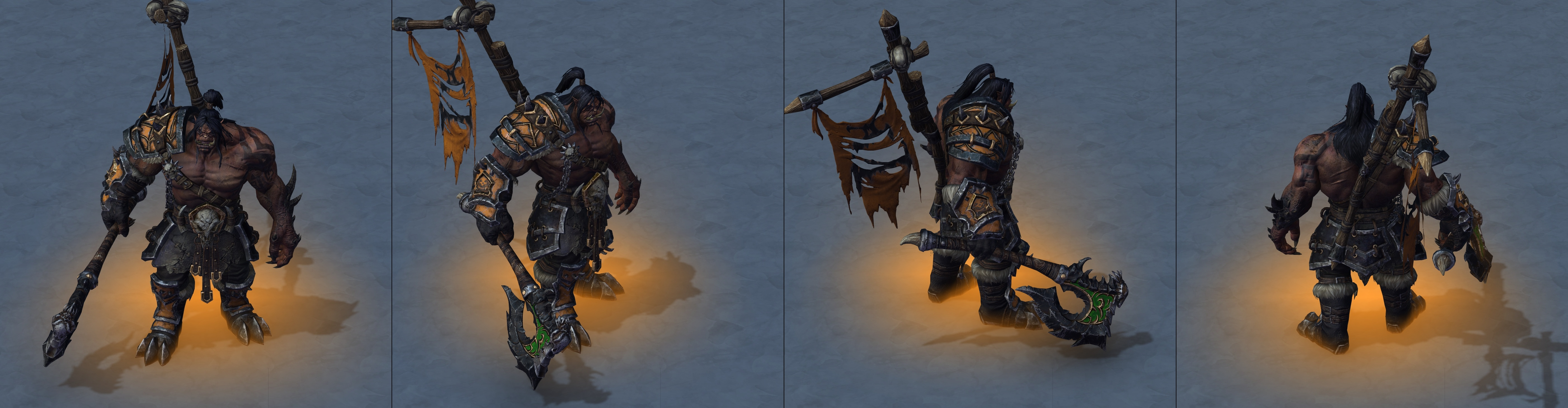 Warcraft Iii Reforged Horde Character Models Thrall Vol Jin Rexxar And More Wowhead News