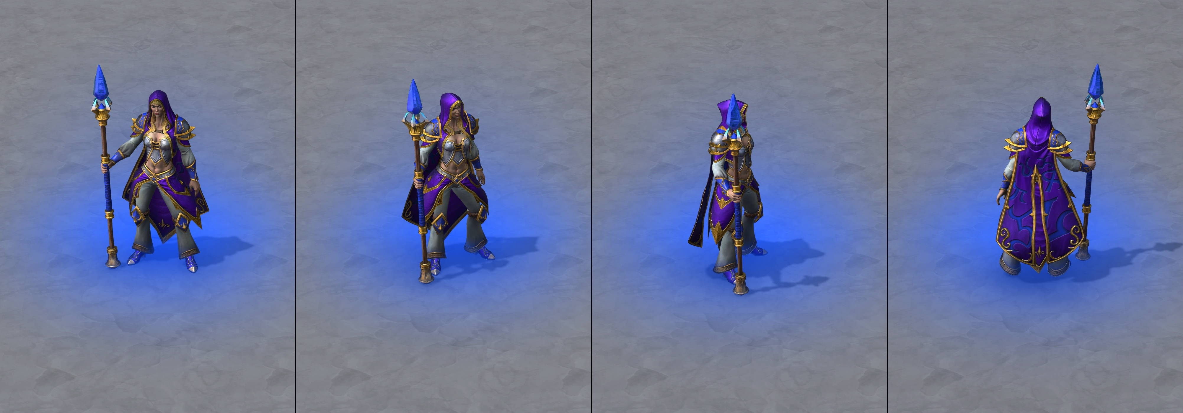 Daughter Of The Sea Jaina Warcraft Iii Reforged Skin Wc3