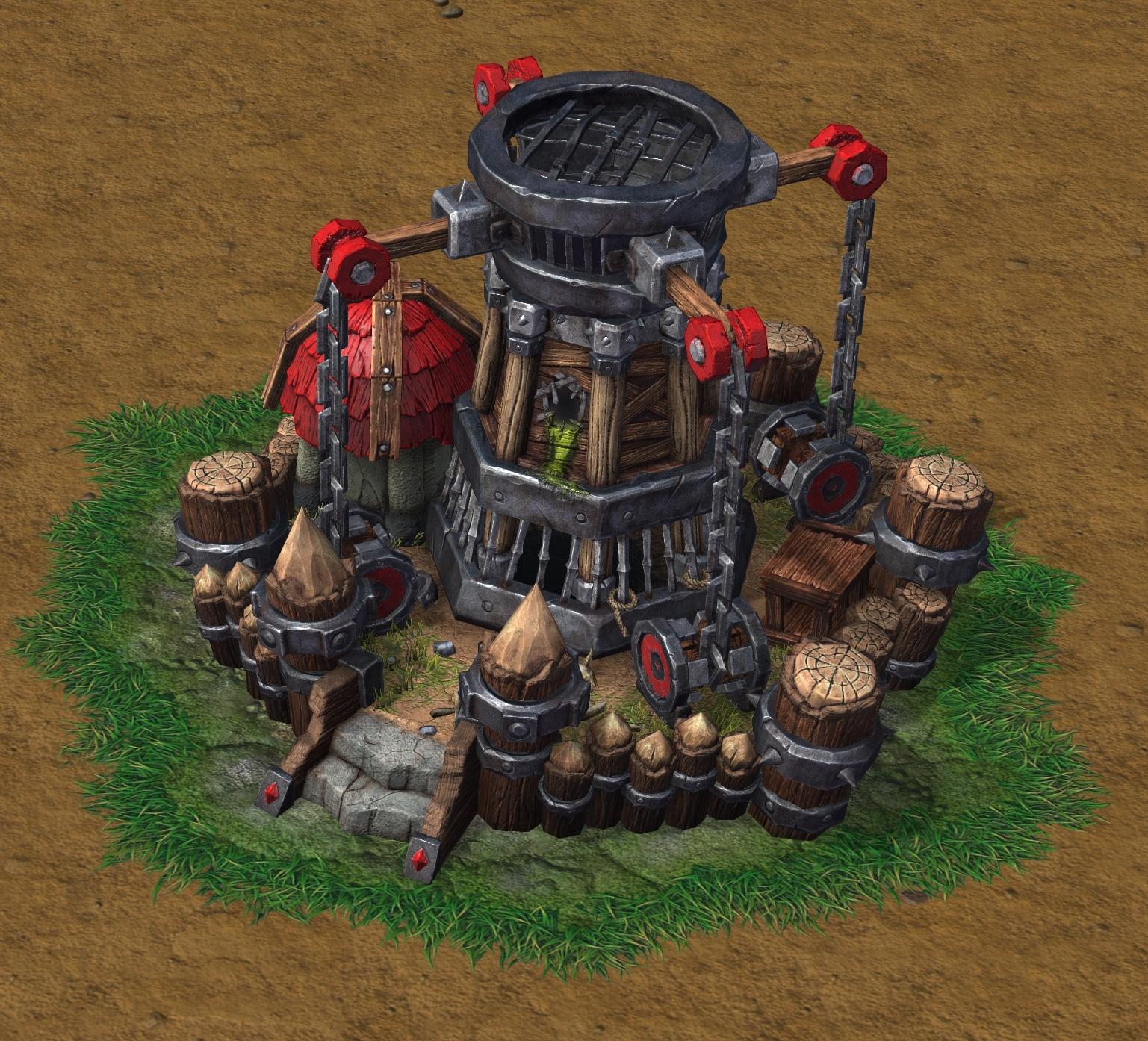 Warcraft Iii Reforged Models Dark Portal Alliance Horde