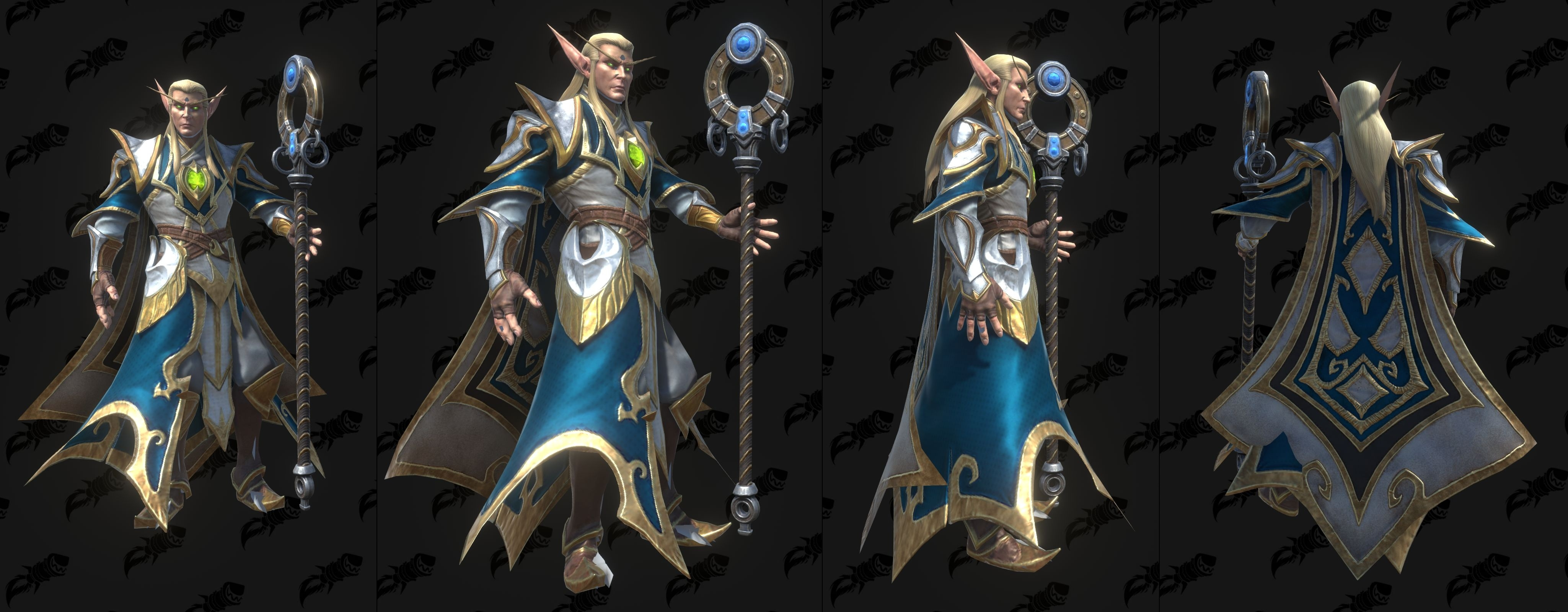Warcraft Iii Reforged High Elf And Blood Elf Models Sylvanas