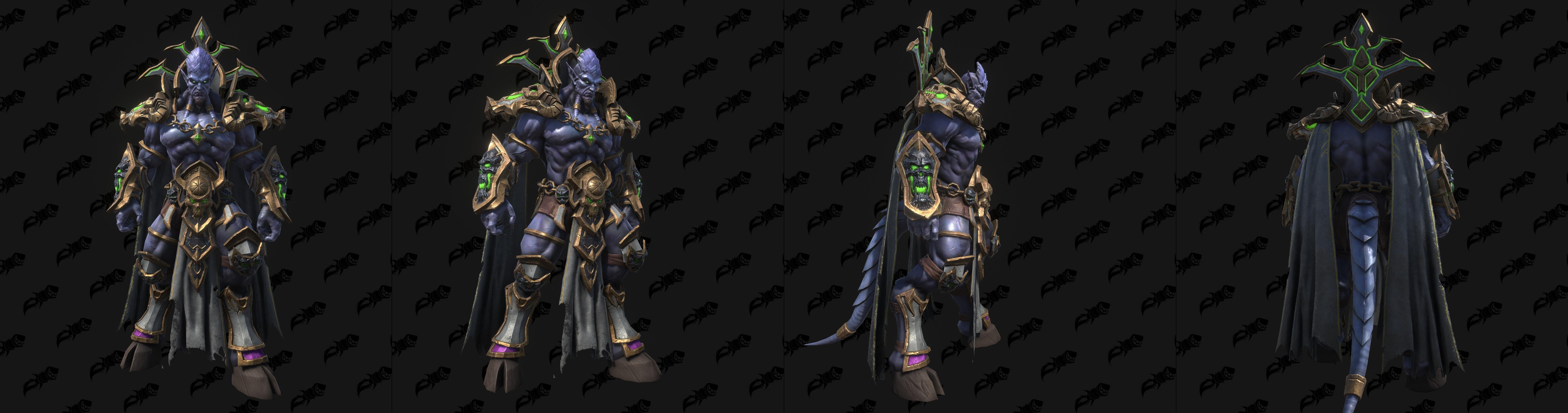 Warcraft III: Reforged Demon Models - Archimonde, Corrupted