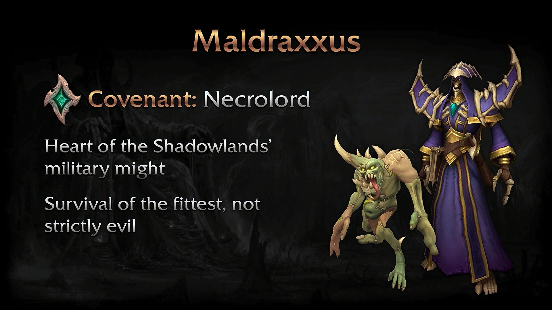 WoW Shadowlands Zones and Covenants - Re-Encounter Popular