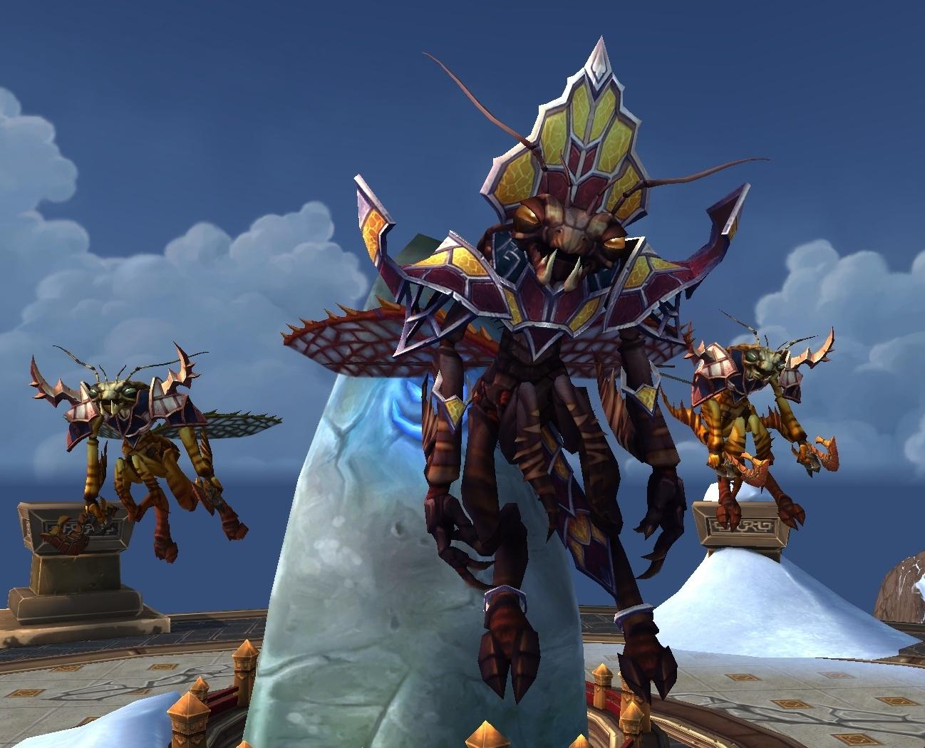 DNT] Credit - Mantid Ambush Defeated - NPC - World of Warcraft