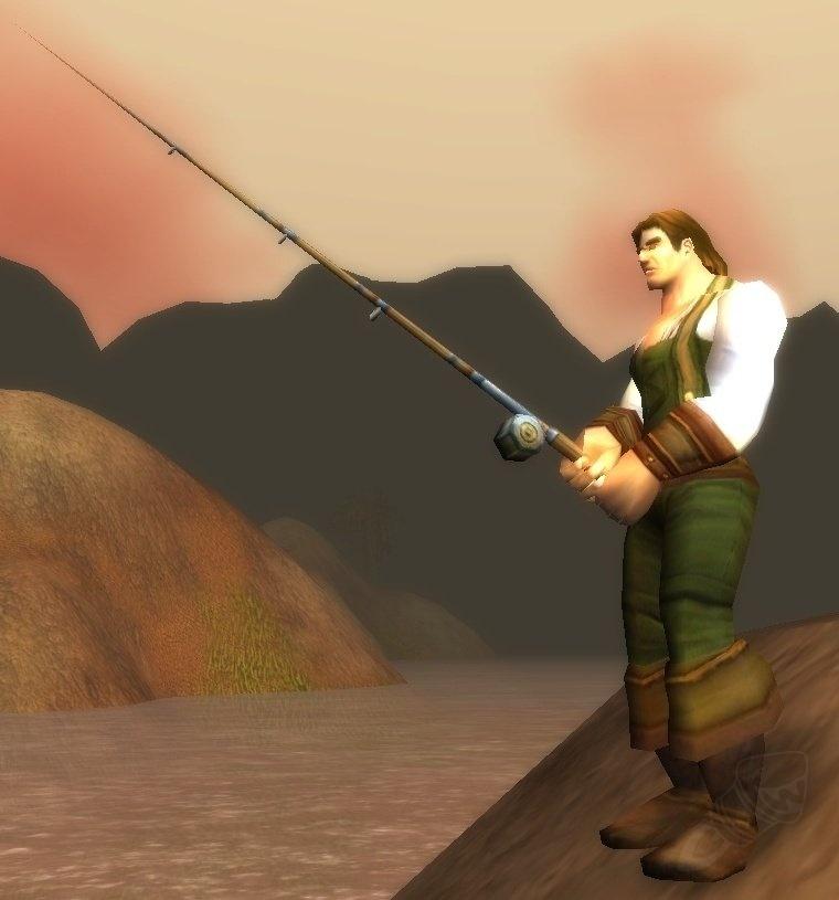 Nat pagle angler extreme fishing pole for Fishing poles wow