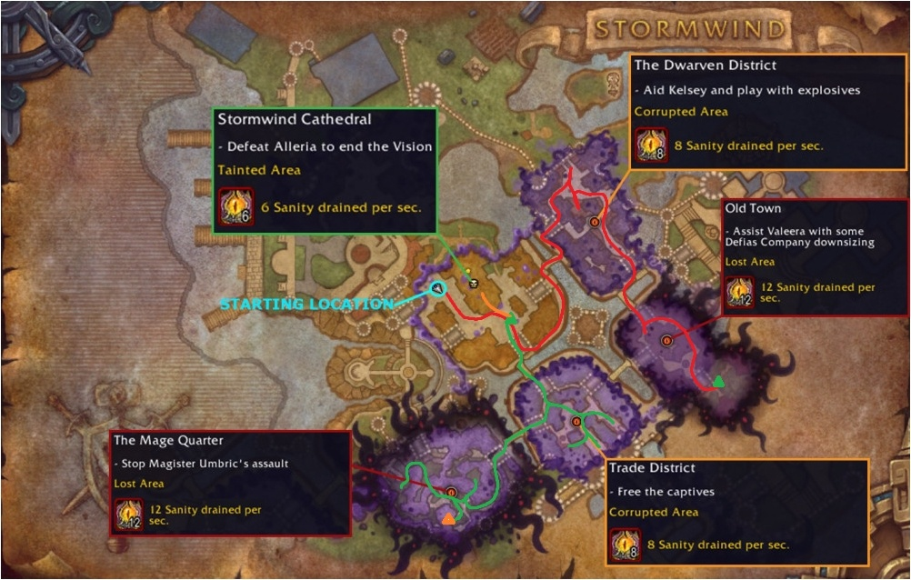 Stormwind Routing