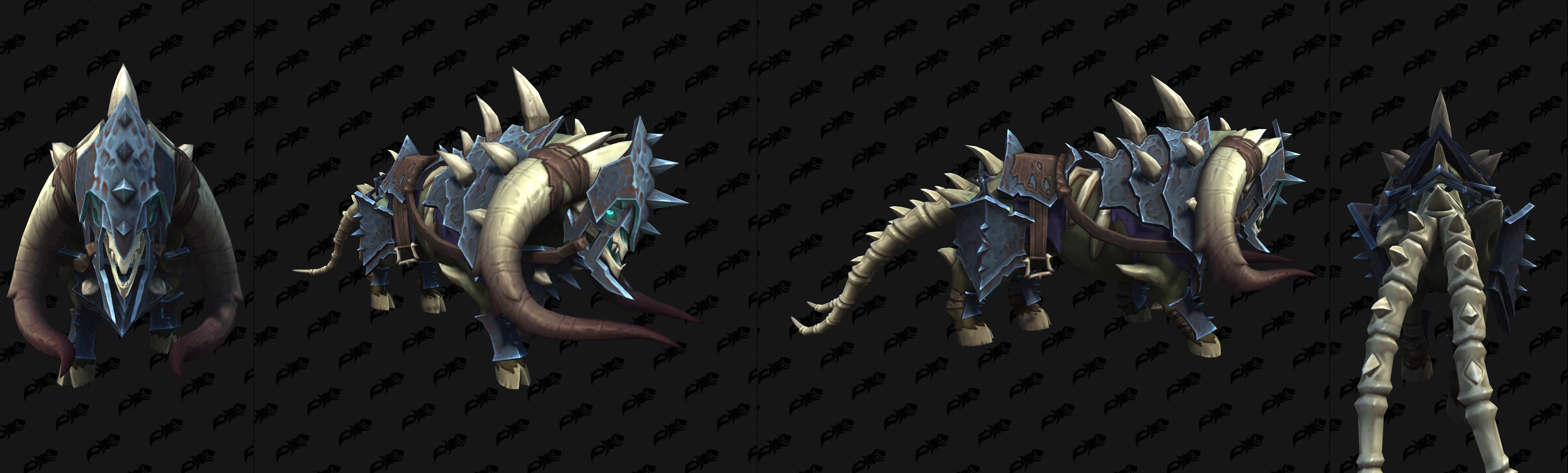 Средства передвижения Shadowlands: Эпический гигантский зверь Малдраксуса