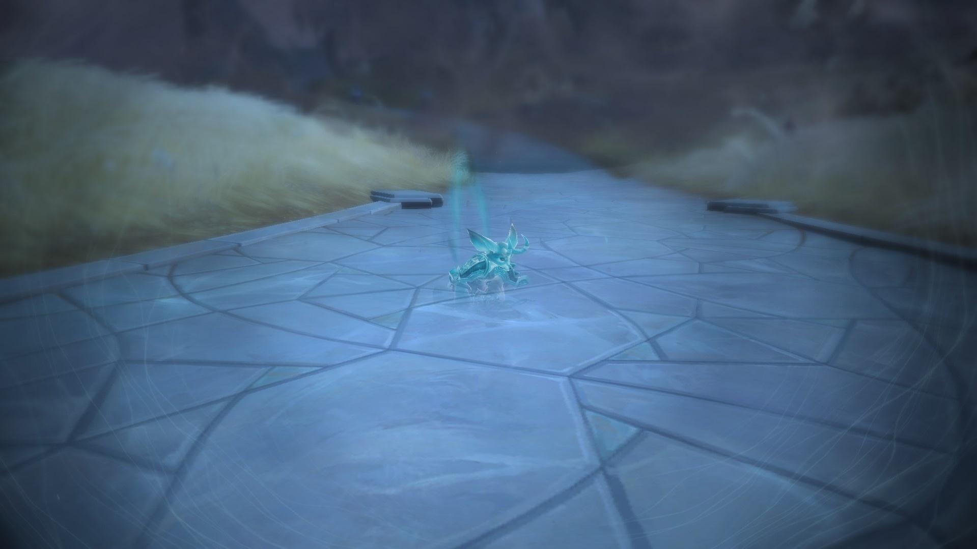 Обновление анимации призрака персонажа в Shadowlands