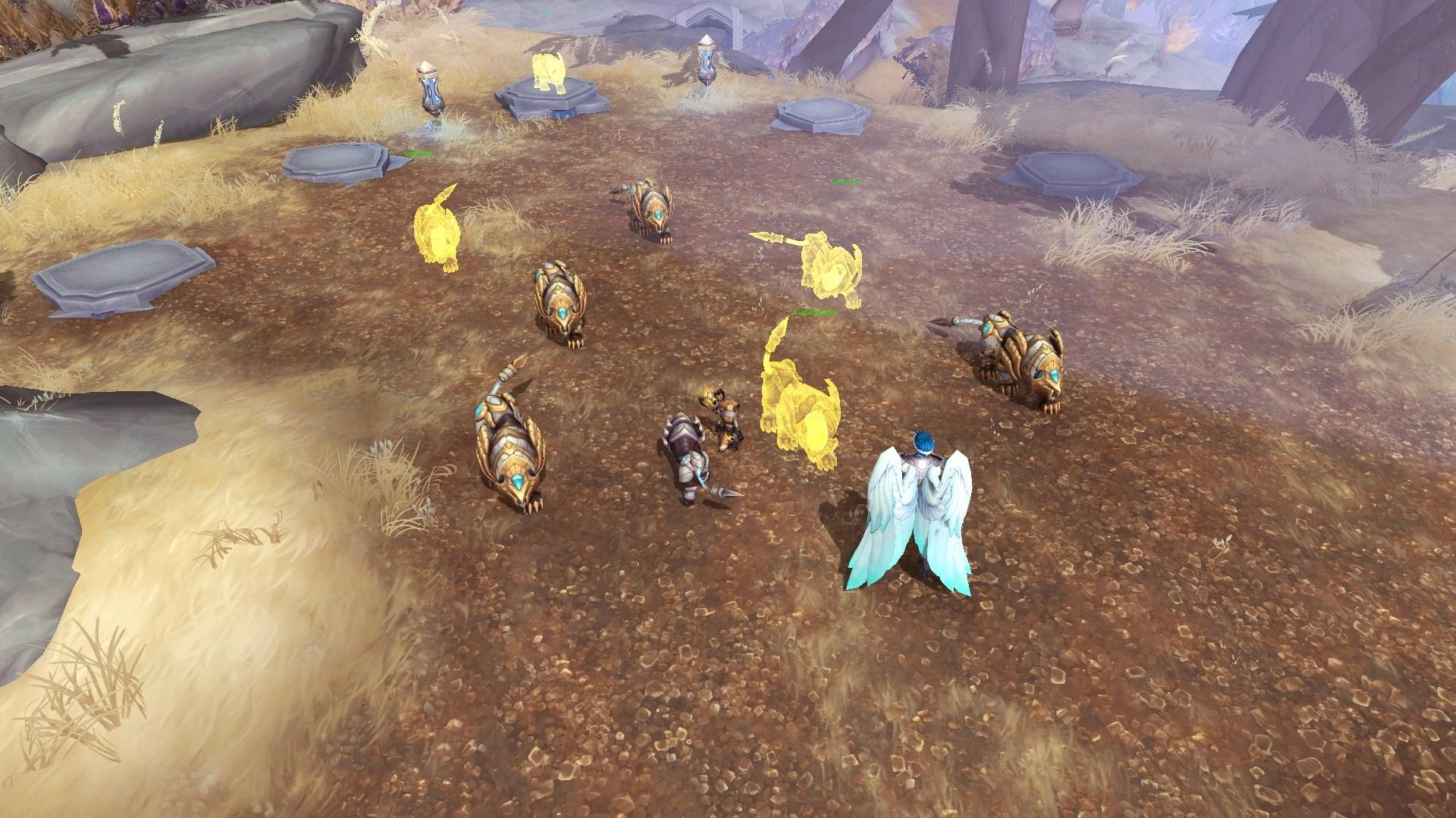 В Shadowlands может появиться цепочка заданий на получение львериона или фарыси