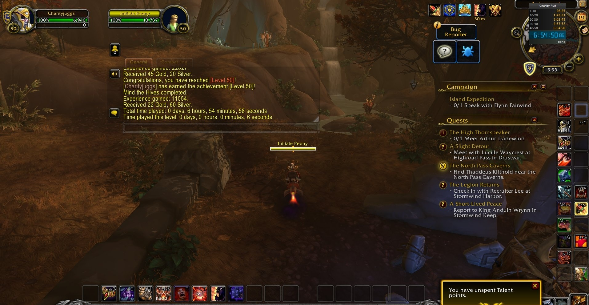 Speed Leveling Shadowlands Alpha In 7 Hours With Desmephisto Wowhead News