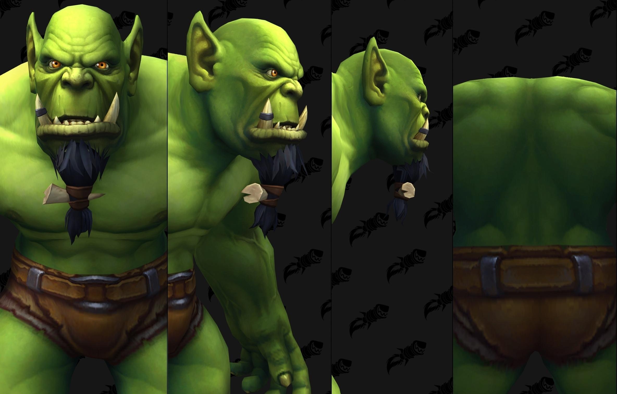 orc character customization options shadowlands wowhead news