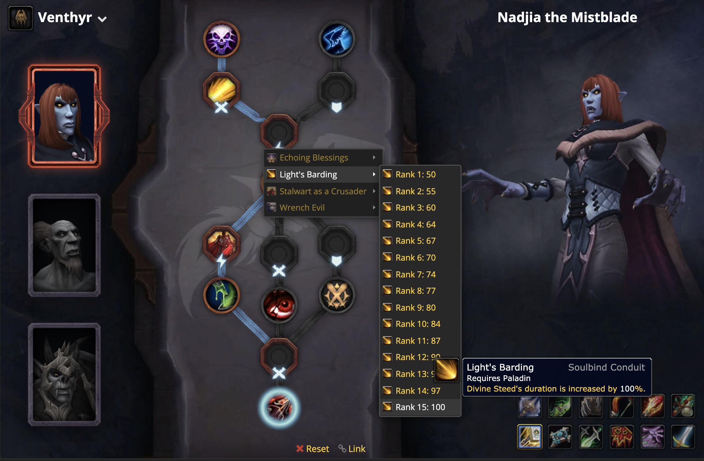 Big Updates to our Shadowlands Soulbind Calculator - Wowhead News
