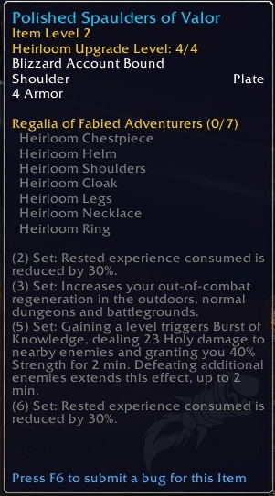Heirloom Changes In Shadowlands Guides Wowhead