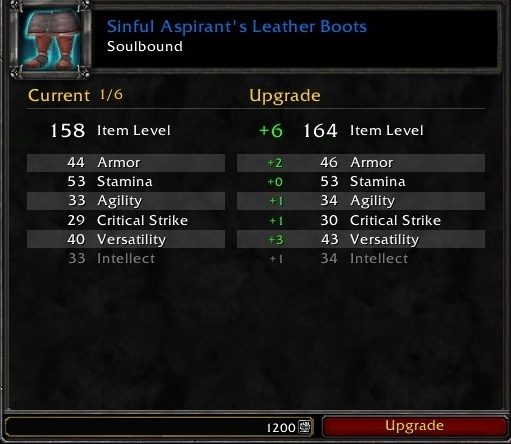 Upgrading Shadowlands Pvp Gear With Honor Points Wowhead News