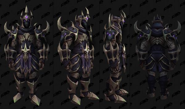 Полная версия кожаного комплекта легендарных доспехов в Shadowlands