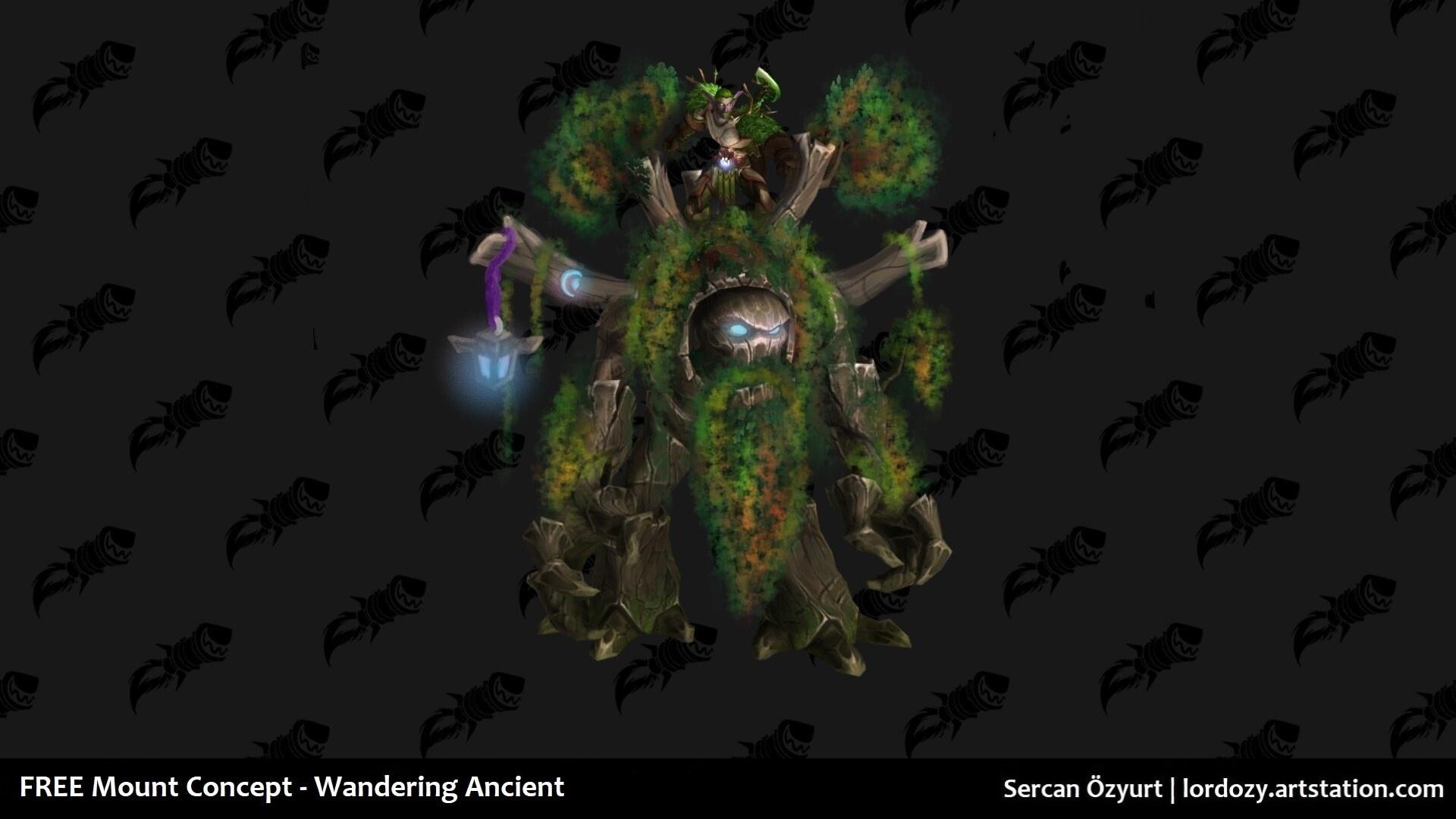 Wandering Ancient isimli binek.(Mount)