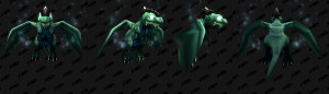 Зашифрованная модель питомца-дракончика в Shadowlands