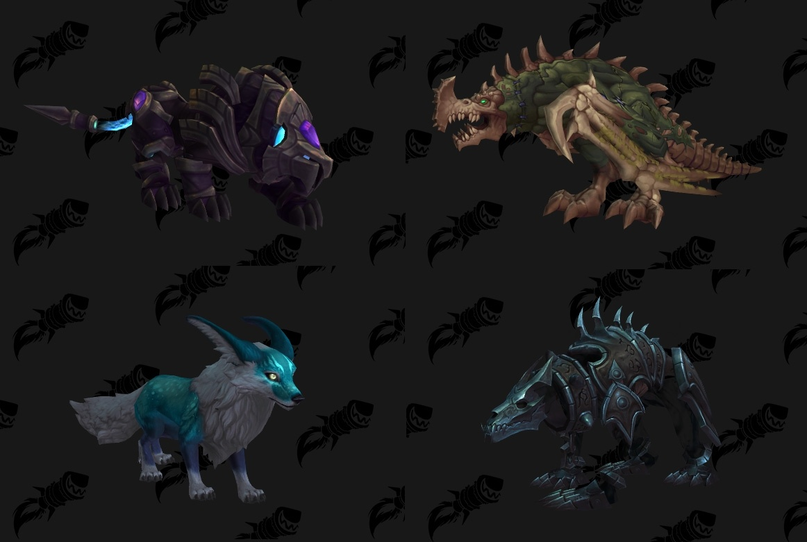 Shadowlands Hunter Pet Guide New Hunter Pets In Shadowlands And Pre Patch Wowhead News