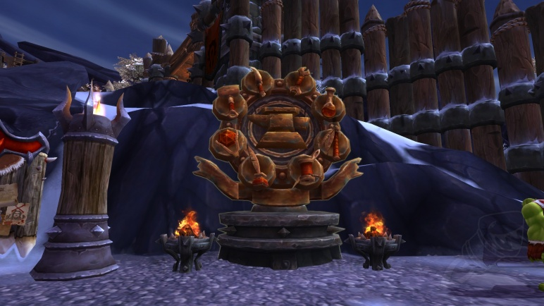 Guide to garrisons in warlords of draenor guides wowhead garrison monuments malvernweather Image collections