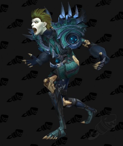 Wod Build 18566 Female Draenei And Undead 3d Models New Tier Sets