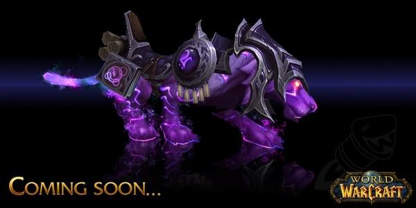 Warcraft Mounts: Mystic Runesaber
