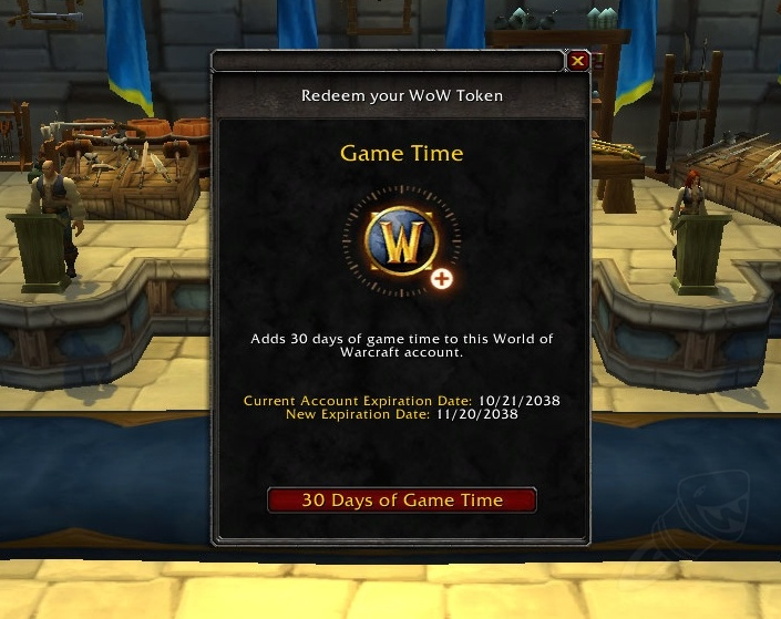 Selling WoW Token