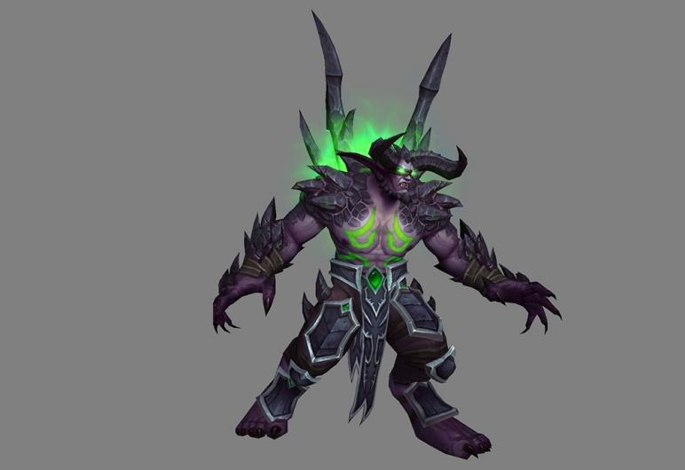 Demon Hunter metamorphosis model opinions