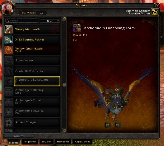 New 7.2 Flight Form: mount not shapeshift? - World of Warcraft Forums