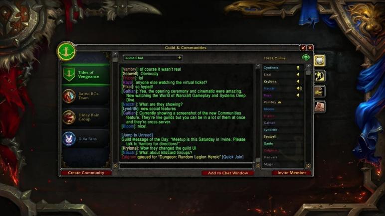 World of warcraft chat log addon