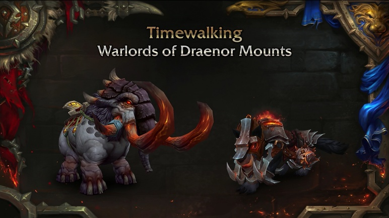 Warlords of Draenor Timewalking