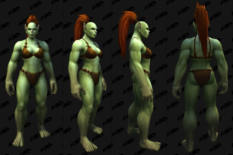 orc character customization options shadowlands wowhead news