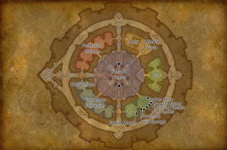 Обзор столицы Темных Земель – город Орибос