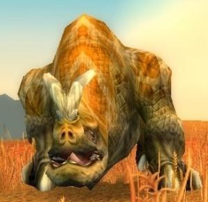 Lost Barrens Kodo Npc World Of Warcraft