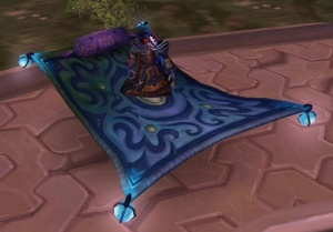 Frosty Flying Carpet