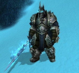 The Lich King Icecrown Npc World Of Warcraft