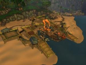 Попасть затерянные острова wow