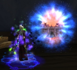 hydrae theramore portal trainer