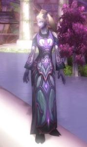 Queen Azsharas Dressing Gown Item World Of Warcraft