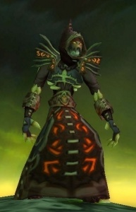 Sanctified Dark Coven's Regalia - Item Set - World of Warcraft