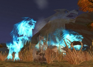 How does glyph of ghost wolf work