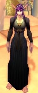 Wow robe de lune d'argent