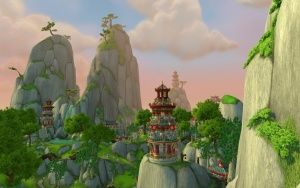 The Jade Forest  Zone  World of Warcraft