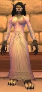 Vestiti Eleganti World Of Warcraft.Abito Nuziale Bianco Oggetto World Of Warcraft