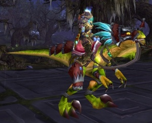 Swift Razzashi Raptor - Item - World of Warcraft