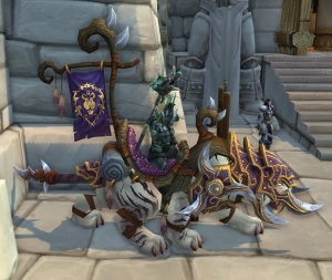 Silla De Montar Sañosa Objeto World Of Warcraft