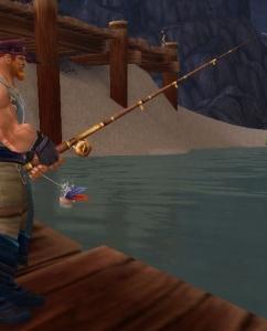 darkwood fishing pole - item - world of warcraft, Fishing Rod