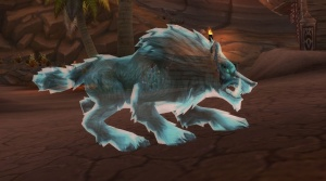 Glyph of the Spectral Wolf - Item - World of Warcraft